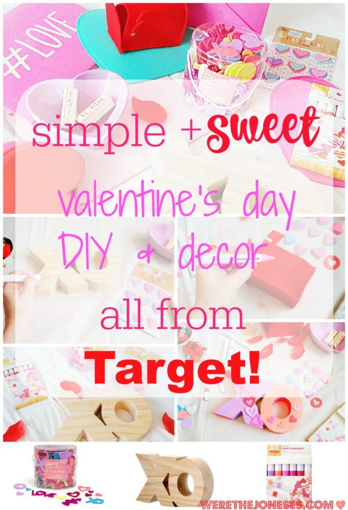 valentine's day decor and DIY pinterest