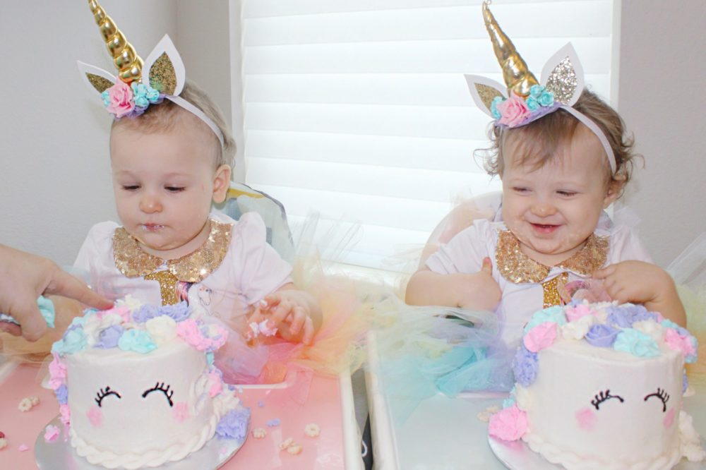 unicorn first birthday cake Unicorn Birthday Party Twin Girls Birthday unicorn 1st birthday party decorations unicorn headband unicorn birthday outfit