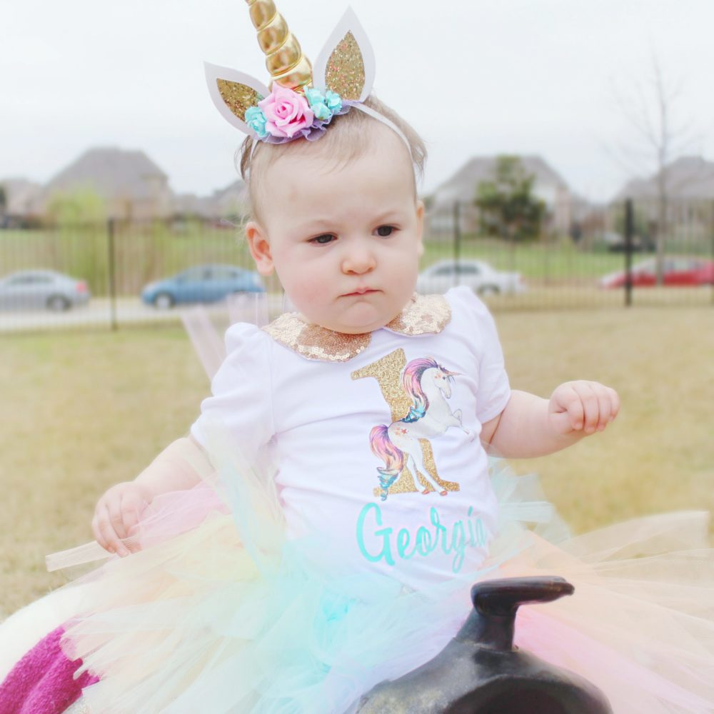 best unicorn first birthday party images outdoor unicorn party ideas unicorn headband unicorn birthday shirt unicorn tutu unicorn birthday outfit
