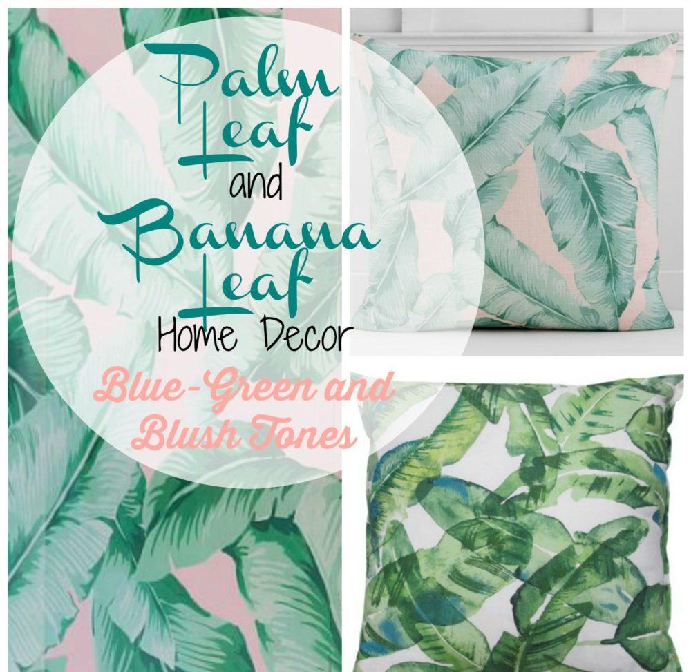 Palm Leaf Banana Leaf Home Decor