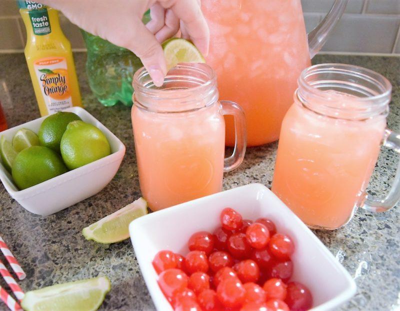 How to Make a Sonic Sunrise Cherry Limeade Orange Juice Sunrise Recipe