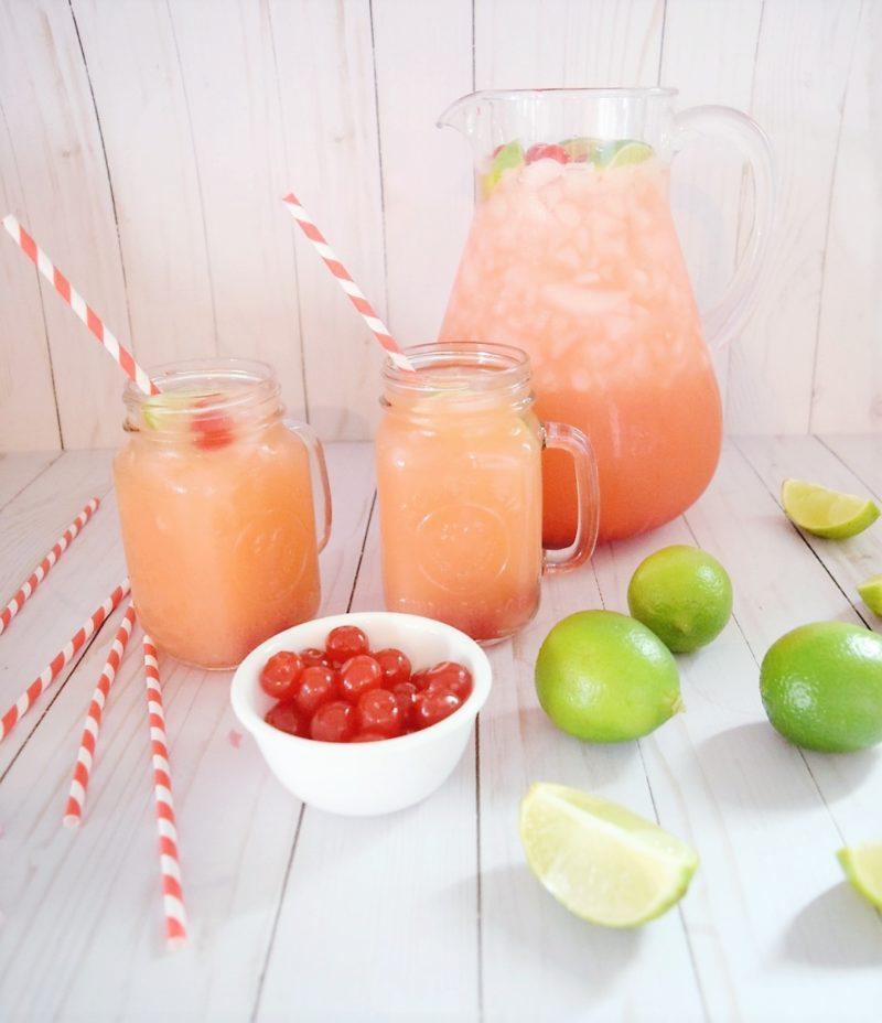 Sonic Sunrise Recipe Simply Orange Cherry Limeade Easy Mocktail Recipes for Kids and Adults