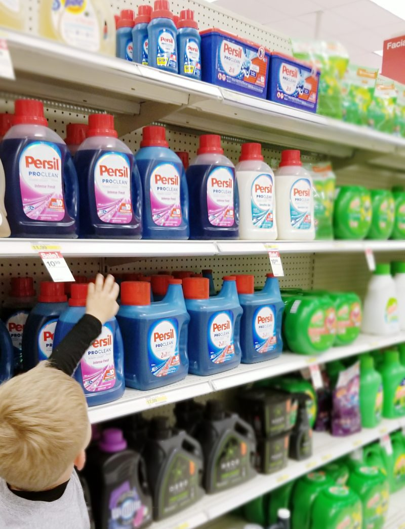 Persil Laundry Detergent in Target