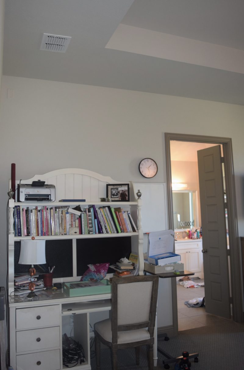 Before pictures master bedroom makeover