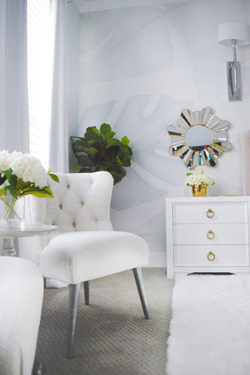 A Beautiful Tropical Romantic Master Bedroom Makeover We Re The Joneses