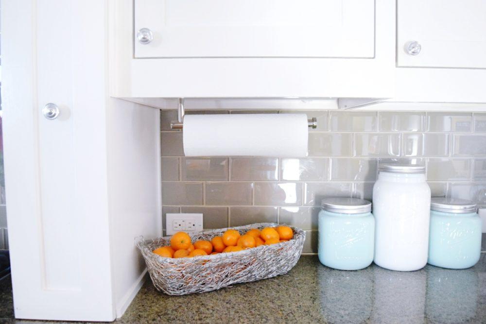 Kitchen upgrades home improvements wall mount paper towel holder werethejoneses.com