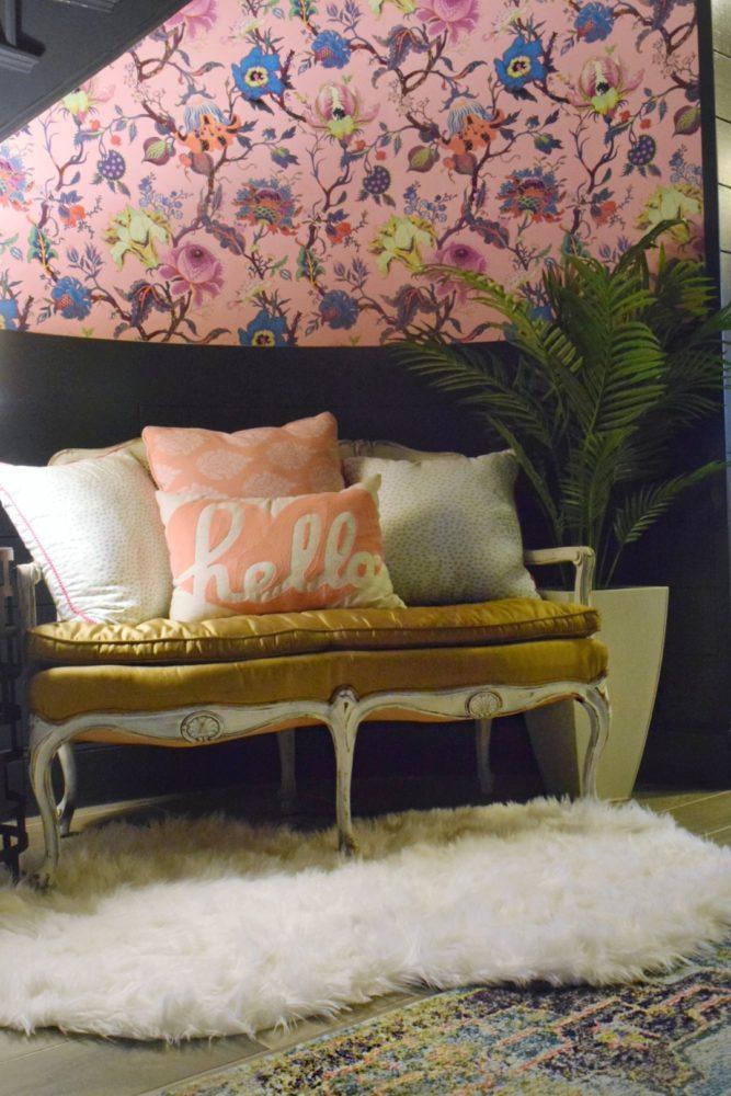 colors in design full spectrum color lighting in interior design floral wallpaper colorful decor selecting colors Soraa lighting