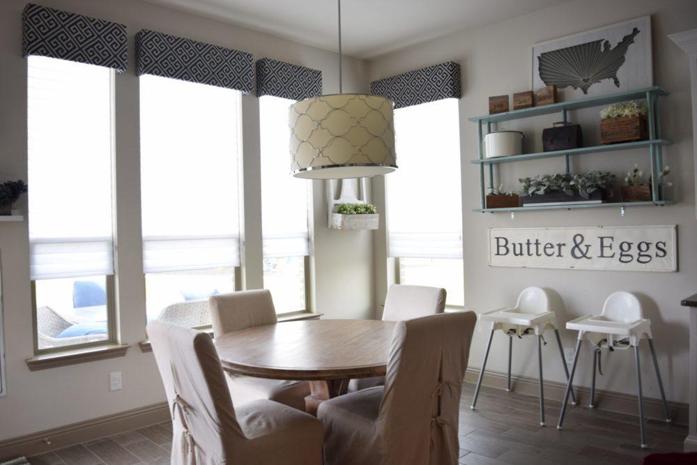 Before and After Breakfast Nook Makeover Farmhouse Kitchen Design Turned Modern Coastal Glam Kitchen Makeover