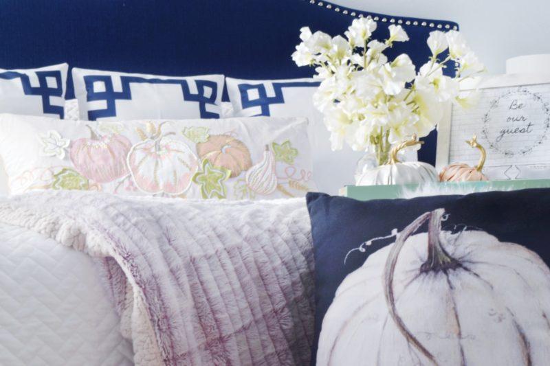 guestroom decor fall decor ideas seasonal decor modern decorations guest room fall decorating non traditional color palettes