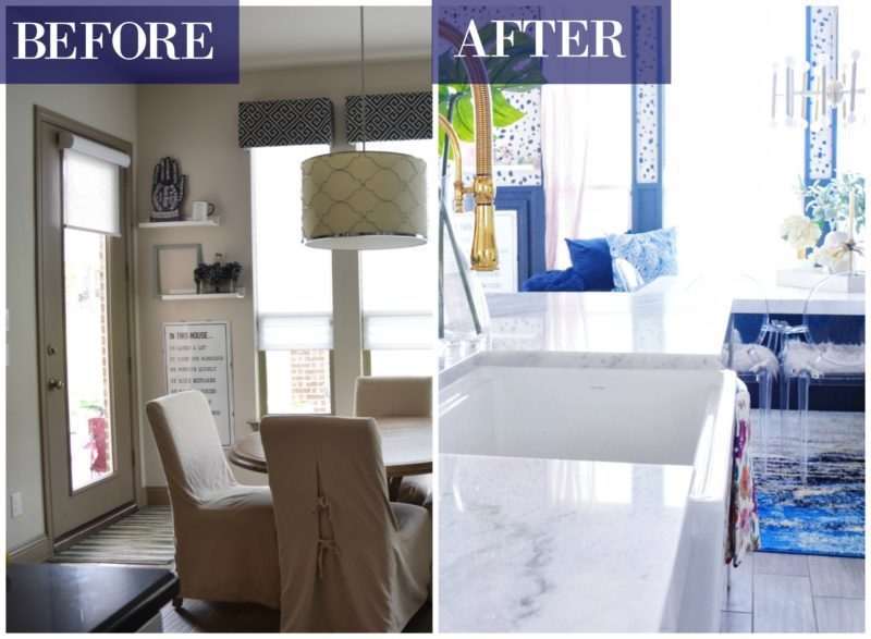 Before and After Pictures Kitchen Remodel Modern Coastal Kitchen Makeover design ideas modern kitchen decor white kitchen coastal kitchen