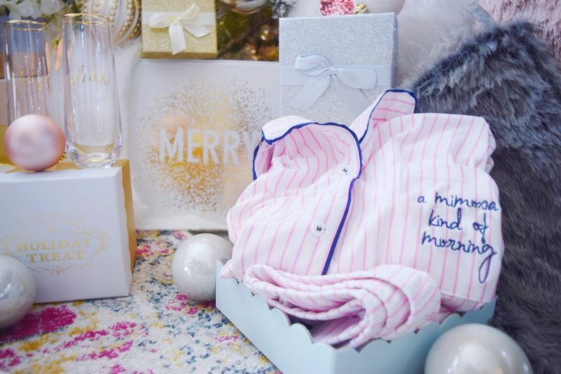 Best Girlfriend Gift Ideas: Rose All Day Gift Collection A Mimosa Kind of Morning Pajama Set Wine Lover Gift Ideas