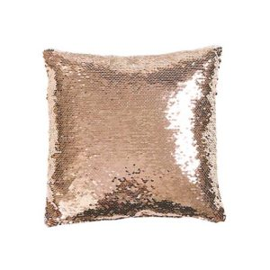 Best Girlfriend Gift Ideas Blush and White Sequin Mermaid Pillow Rose All Day Gift Collection