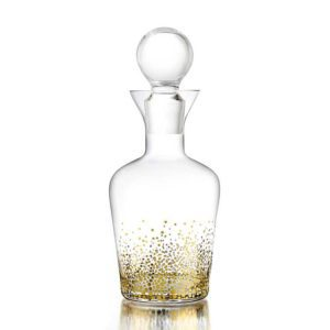 Best Girlfriend Gift Ideas Bar Gifts Wine Lover Gifts Rose All Day Gift Collection Gold Luster Decanter