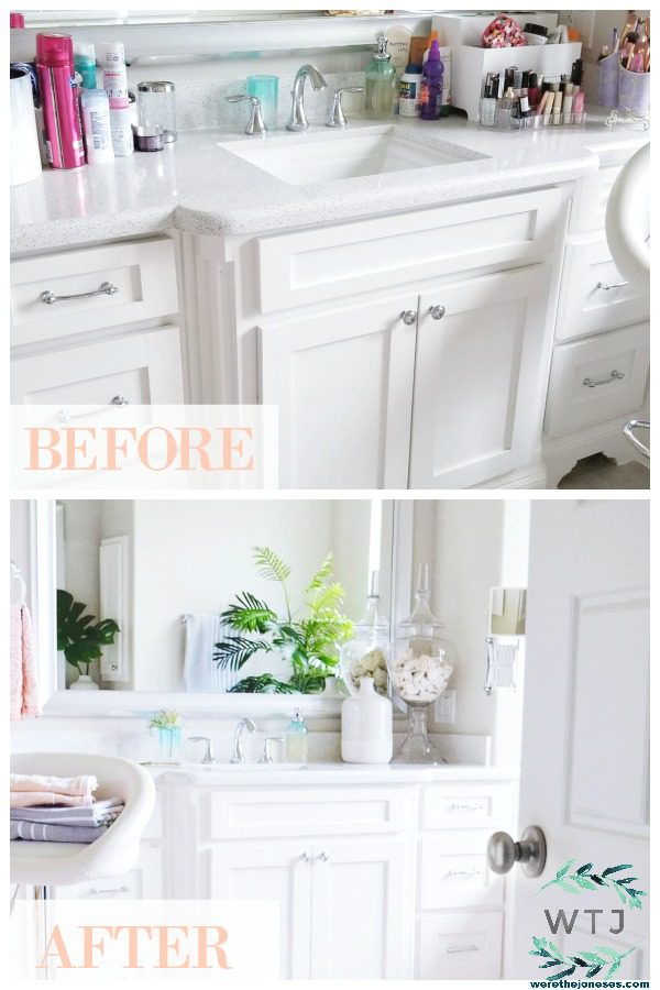 Master Bathroom Refresh Before and After Pictures Modern and Fresh Master Bath Decorating Ideas On a Budget