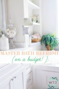 master bath refresh on a budget tips and ideas for affordable and stylish bathroom decor for the master bathroom decorating