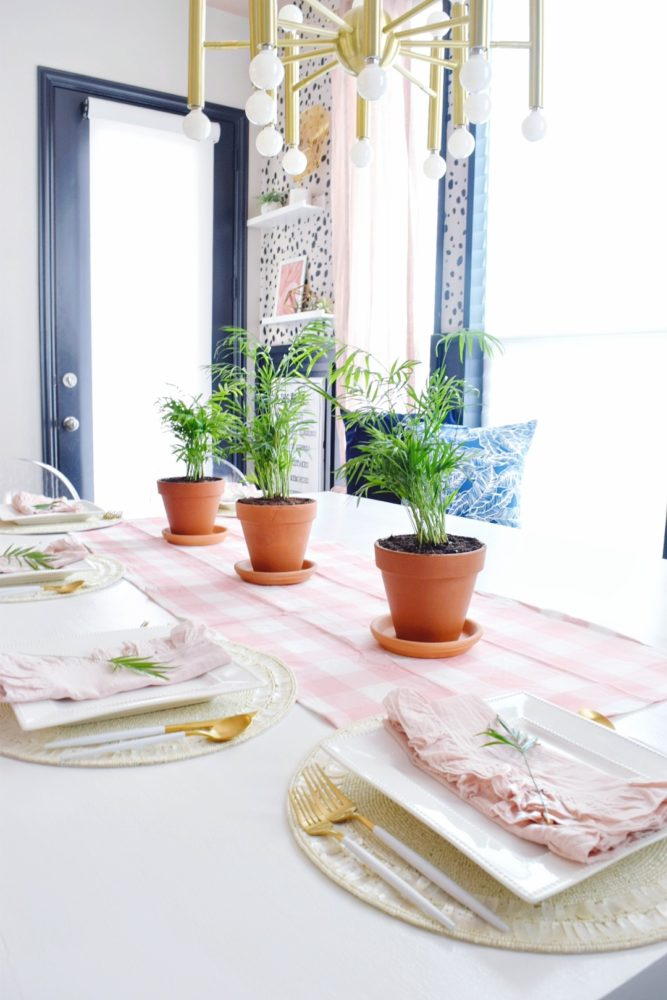 modern coastal spring table decorating ideas with gorgeous spring table setting ideas