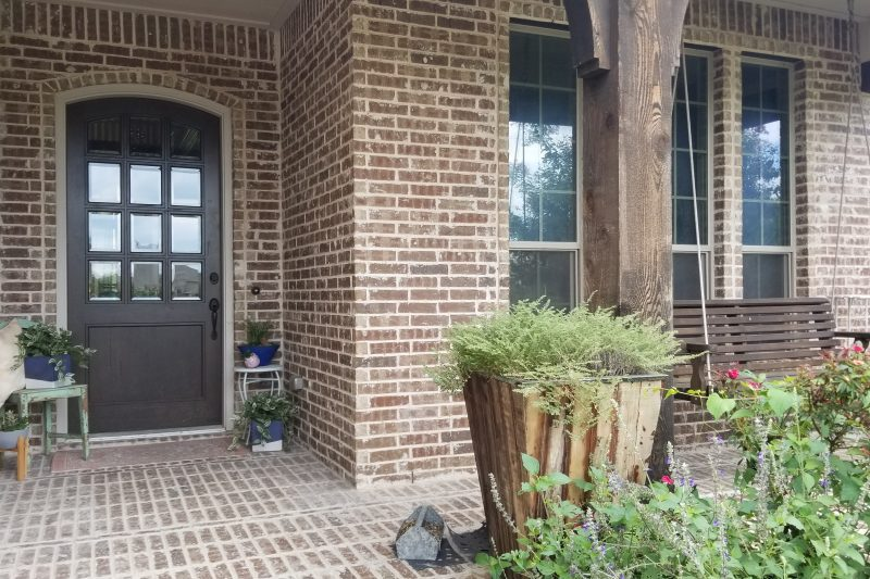 front porch before picture