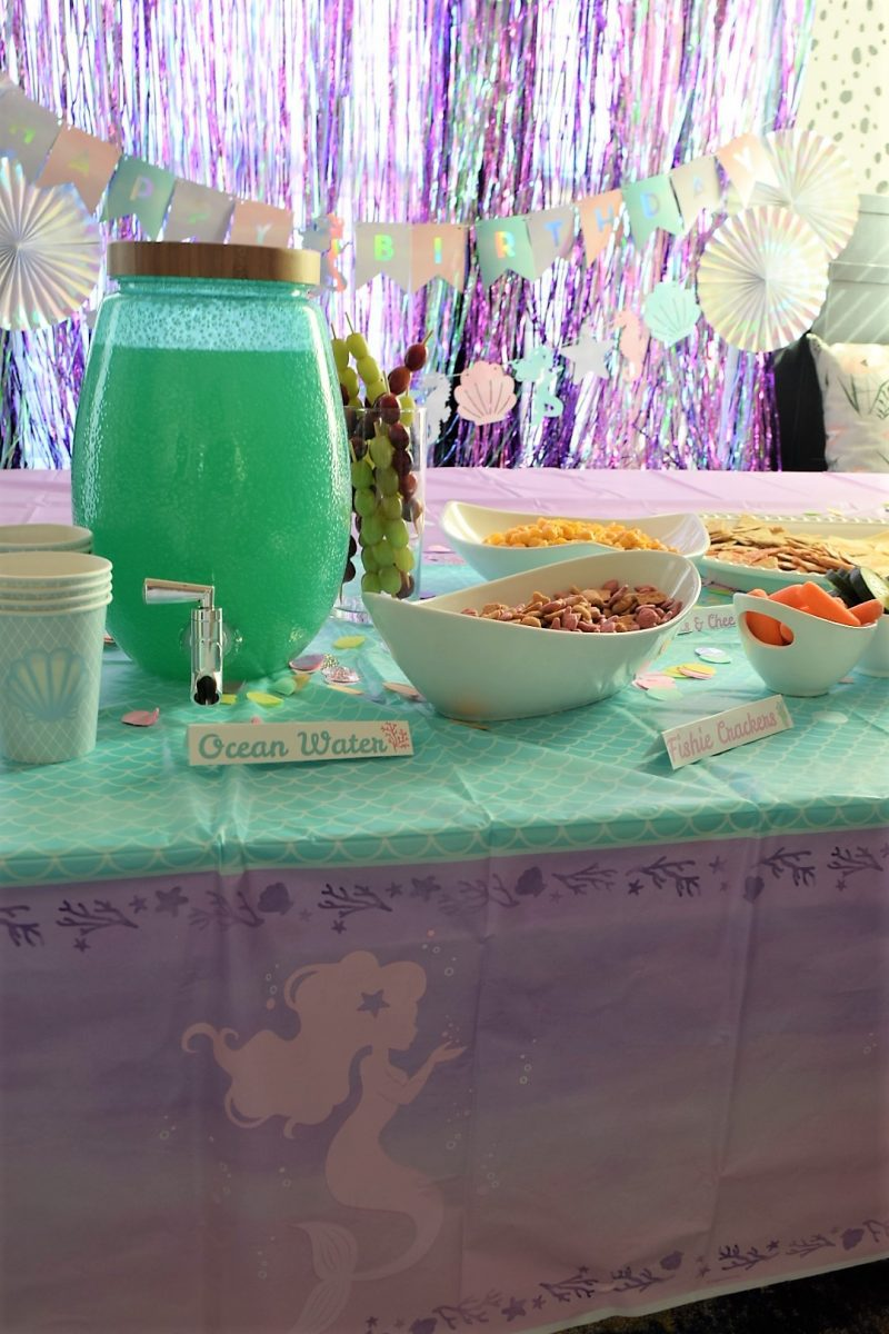mermaid party ideas mermaid food ideas under the sea party