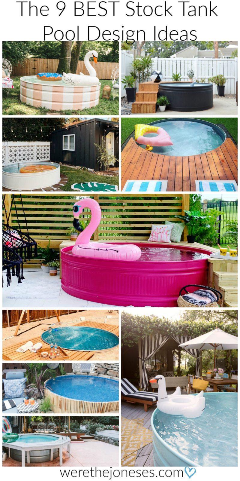 Galvanized Swimming Pool Designs