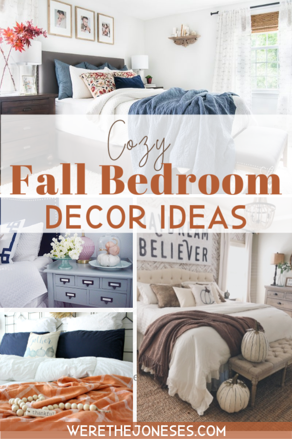 Fall bedroom decor ideas and inspiration for decorating for fall