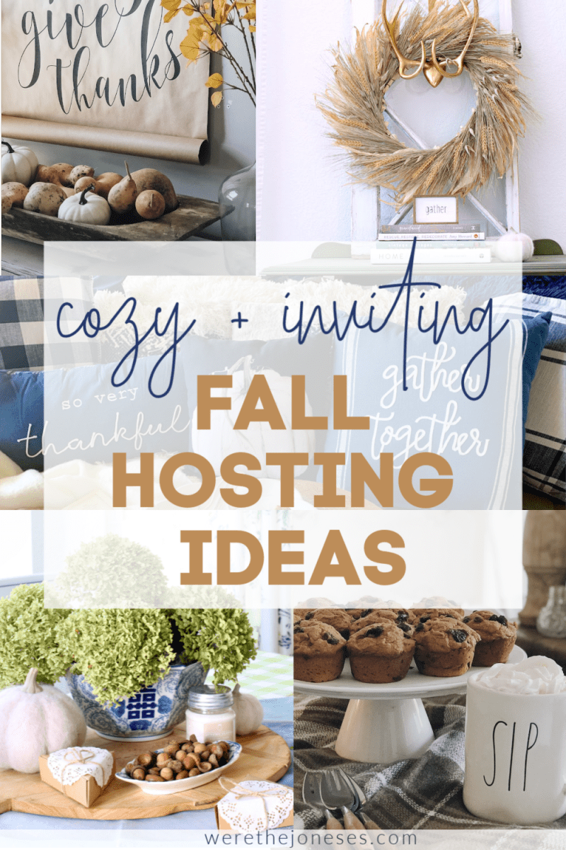 fall hosting ideas for your home this autumn season