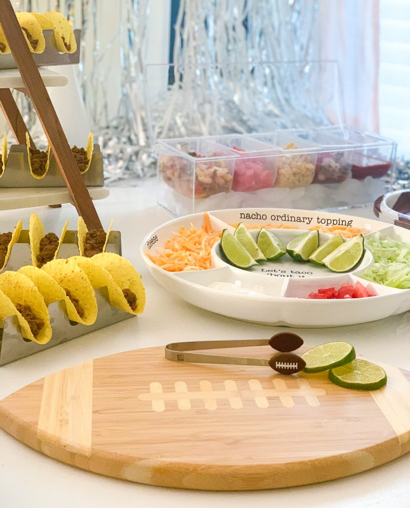 homegate taco bar party and decor ideas