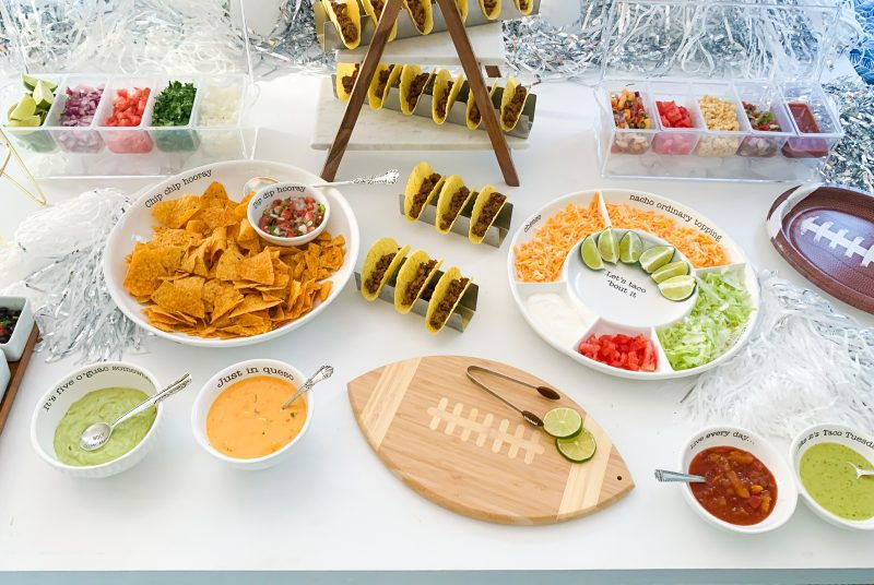 homegating party food ideas for game day