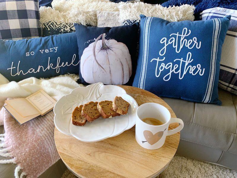 fall hosting tips with cozy fall touches
