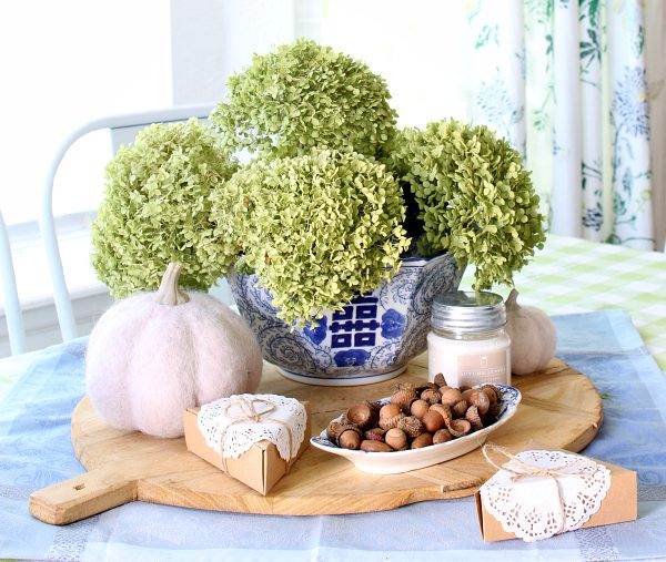 fall hosting ideas and cozy fall kitchen decor