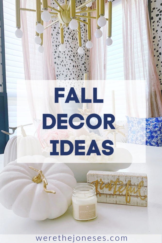fall decor ideas for decorating your home