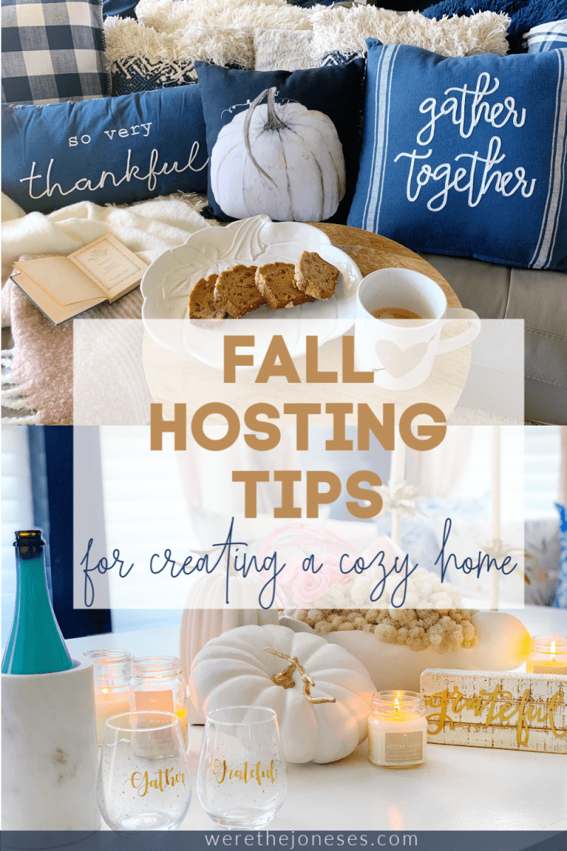 how to add cozy decor touches to your home for fall