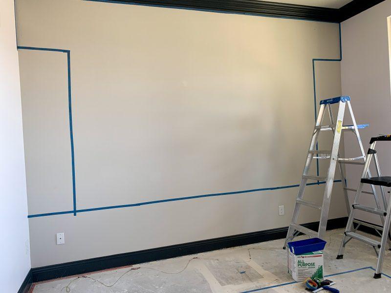 how to skim coat textured walls