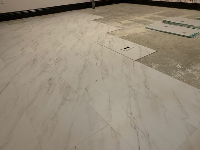 vinyl peel and stick tile flooring