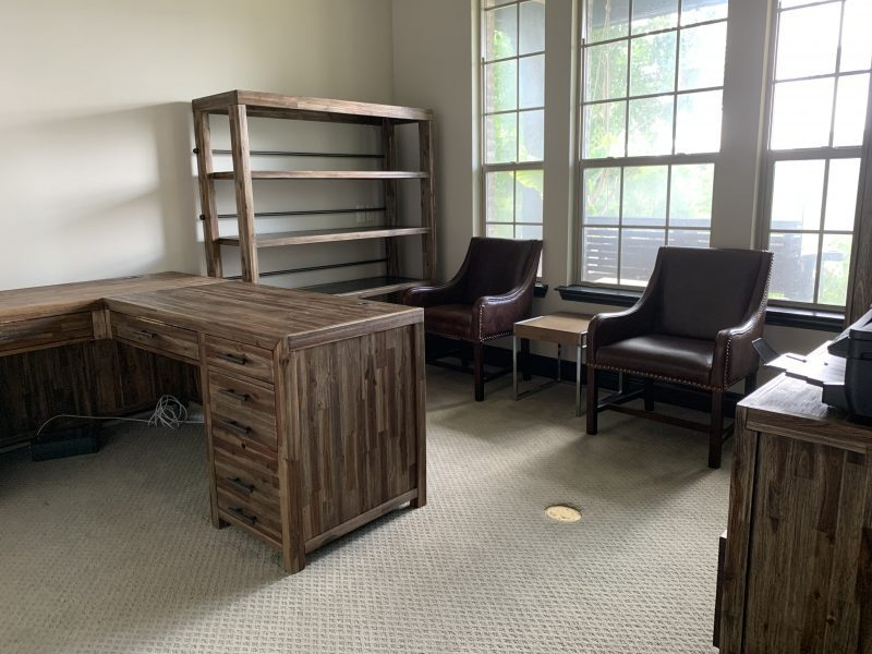 masculine traditional office furniture - one room challenge week one
