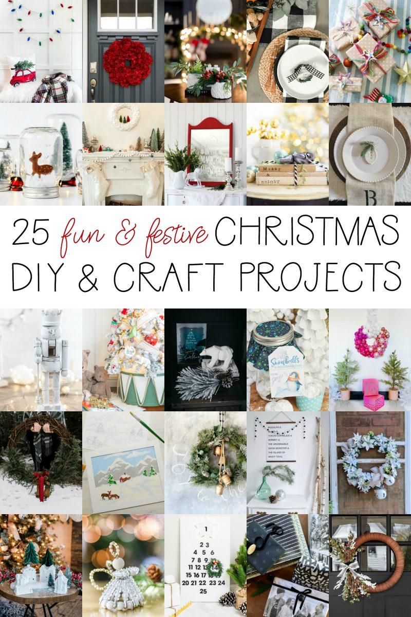 25 fun festive christmas DIY projects