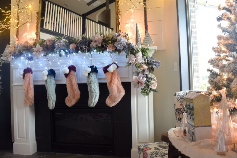 christmas mantel decorating ideas pinterest