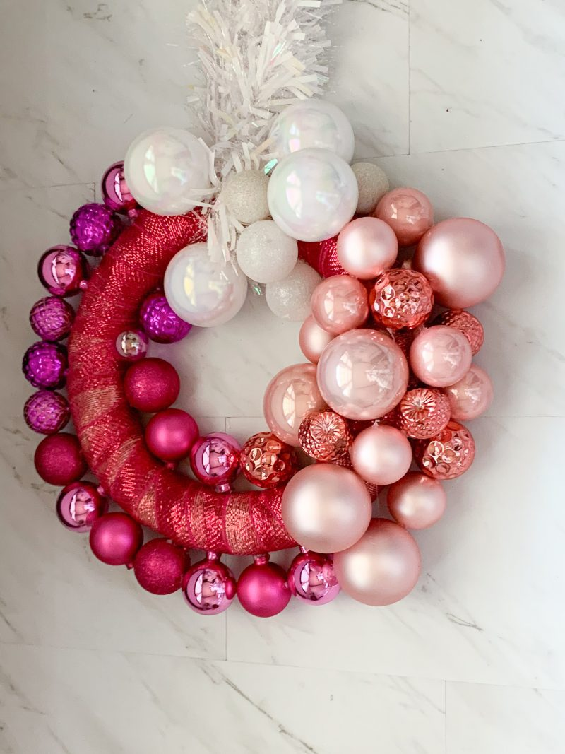 wreath DIY tutorial step by step with instructions