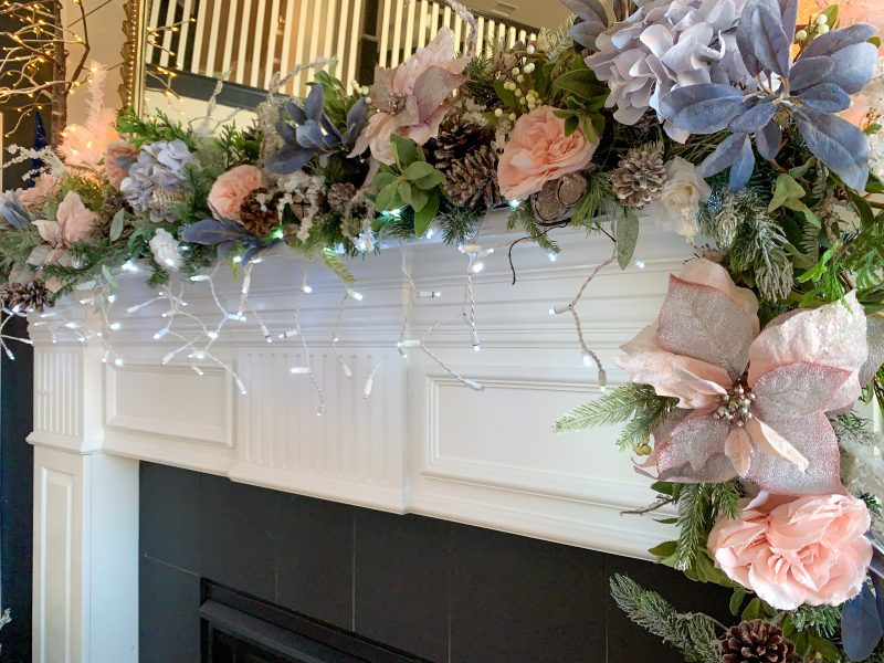 how to decorate you holiday mantel