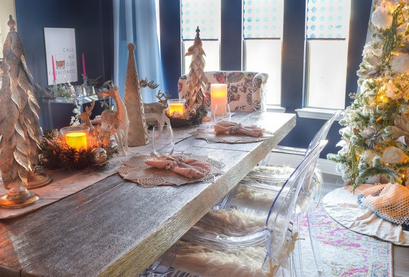 christmas table settings ideas pictures
