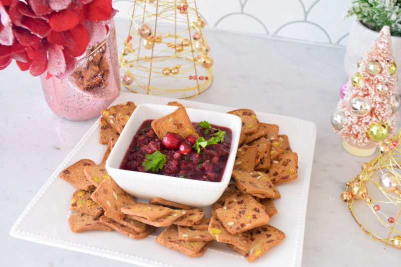 cranberry salsa recipe easy Christmas appetizers