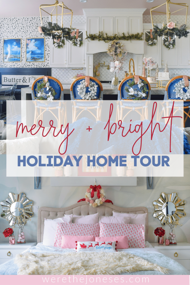 merry and bright christmas decor pinterest