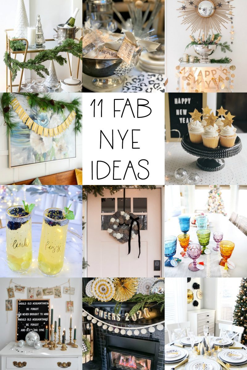 New Year's Eve decor recipes and DIY ideas
