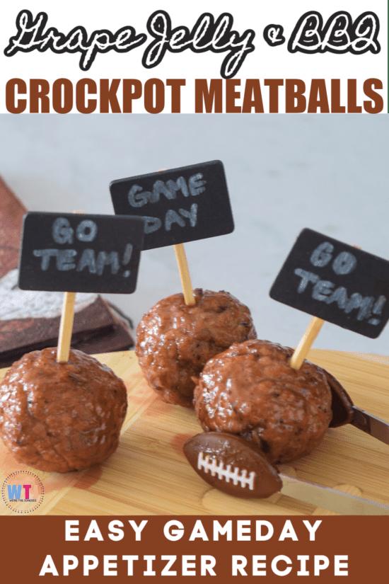 super bowl finger food ideas crockpot meatballs with grape jelly