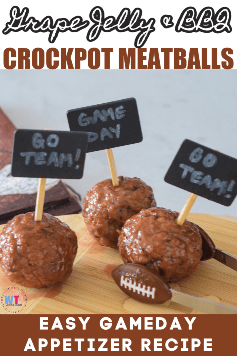super bowl finger food ideas crockpot meatballs with grape jelly