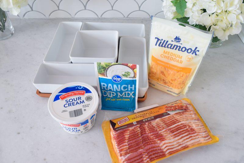 bacon cheddar ranch dip crack ranch dip easy party appetizer recipe