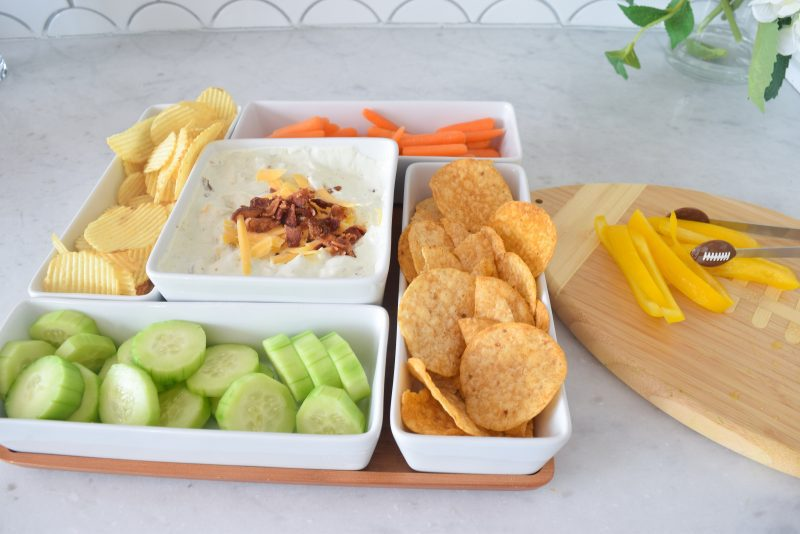 appetizer recipes with pictures bacon cheddar ranch dip