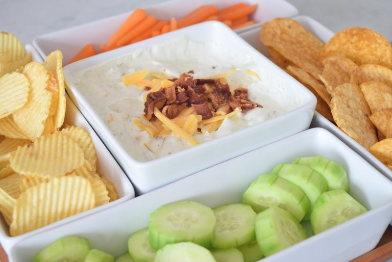 cheddar bacon ranch crack dip super easy appetizers