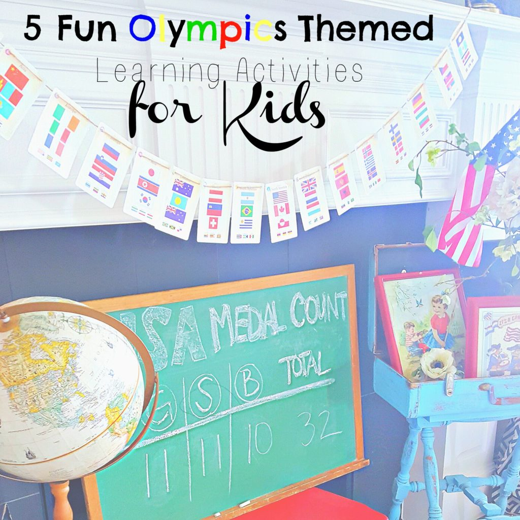 5 Fun Olympics Themed Activities for Kids