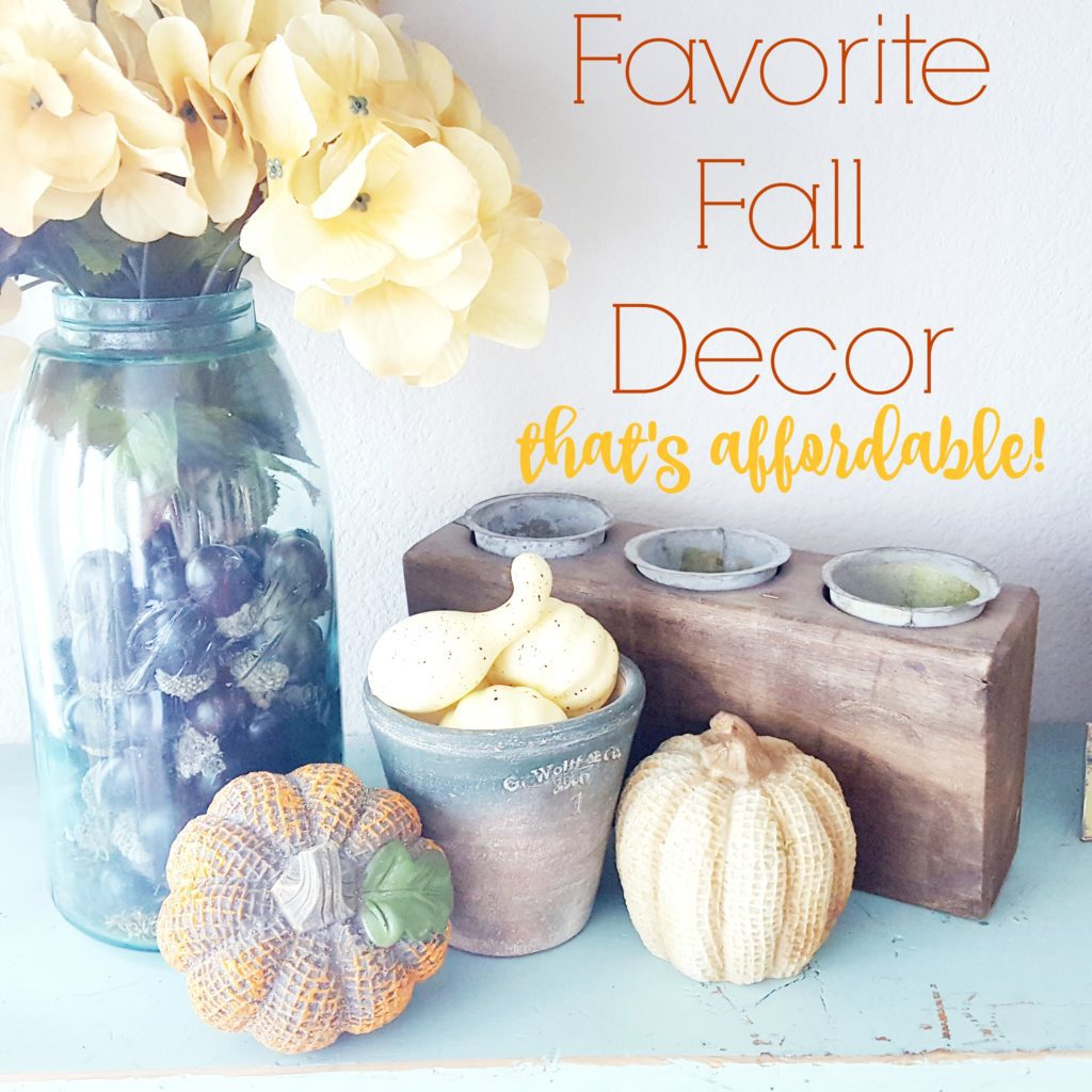 Favorite Fall Decor That's Affordable