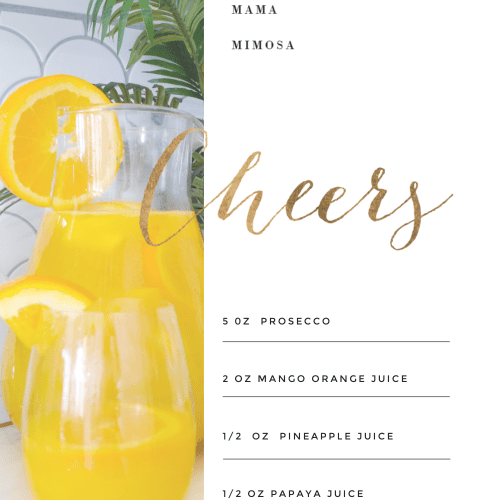 how to make the perfect mimosa
